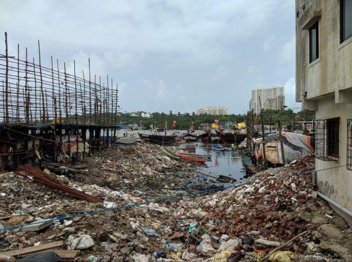 A unique project gives new life to a chaotic Mumbai fishing village