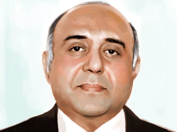 Vineet Chawdhry, chief secretary, Himachal Pradesh (Illustration: Ashish Asthana)