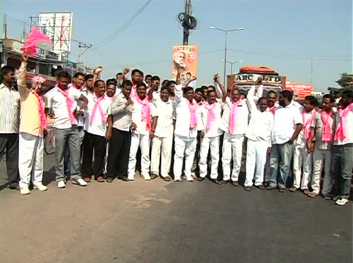 A total bandh was observed across the 10 districts of the region in response to a call given by the Telangana Rashtra Samithi (TRS) and Telangana's chief minister-designate K Chandrasekhara Rao