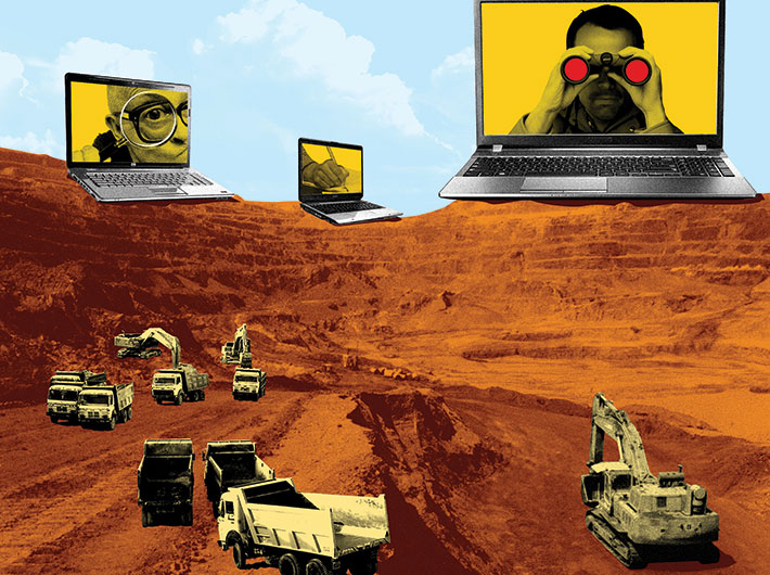 Project i3MS monitors illegal mining activities