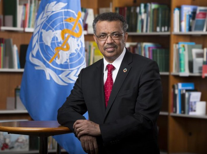 WHO director general Dr Tedros Adhanom Ghebreyesus, whose organisation is facing pulls and pressures of the rift in globalisation (Photo courtesy: twitter.com/WHO)