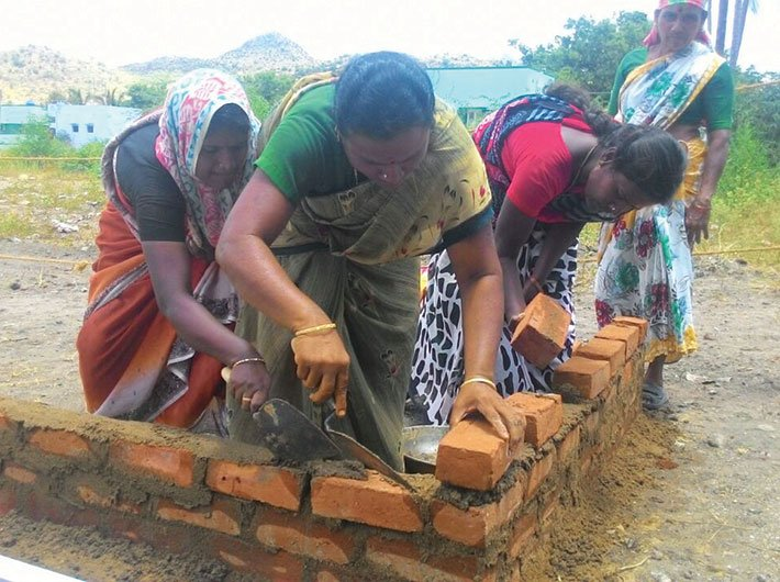 A trowelful of empowerment