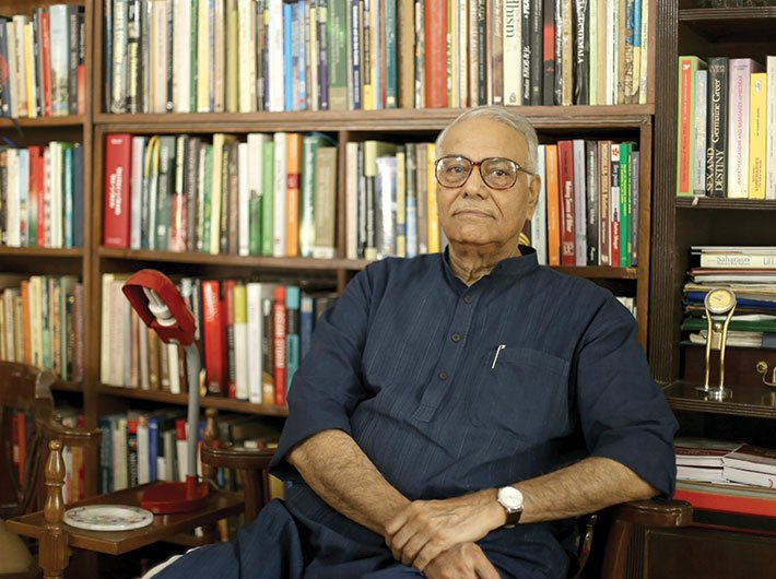 Yashwant Sinha, BJP leader and former finance minister