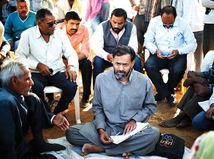 Yogendra Yadav, convenor, Swaraj Party