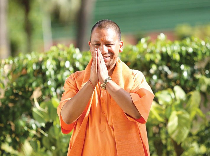 Yogi Adityanath (Photo: Arun Kumar)