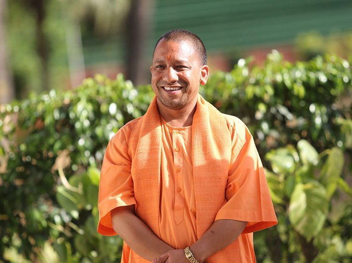 UP CM Yogi Adityanath (Photo: Arun Kumar)